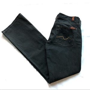 7 For All Mankind by Jerome Dahan Dark Bootcut